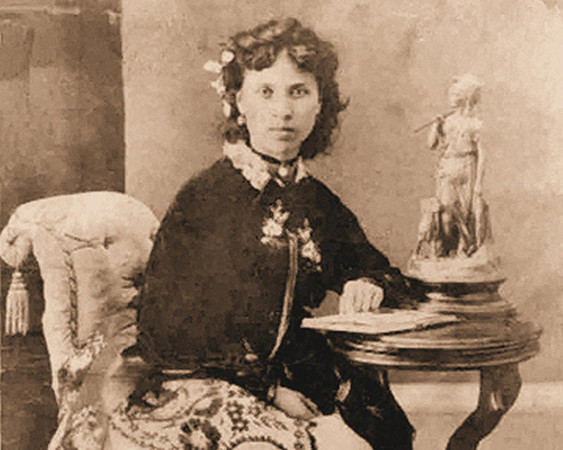 Julia Yesler, pictured, is the offspring of a Duwamish woman and white settler Henry Yesler.
