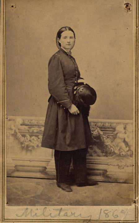 Portrait of Civil War-era surgeon Mary Edwards Walker