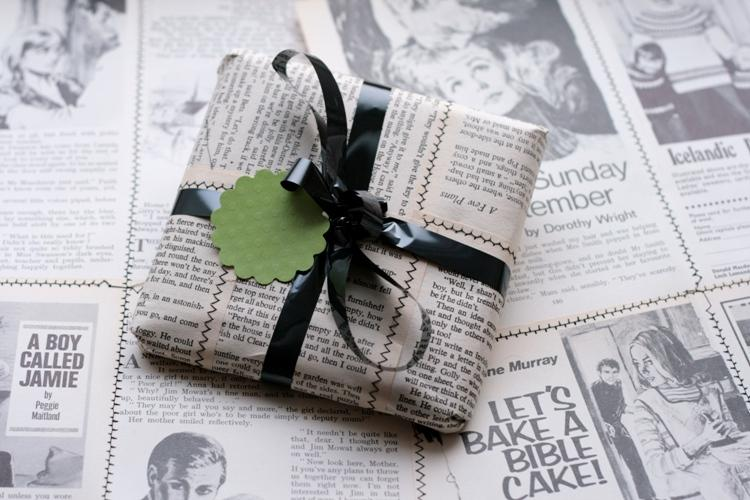 present gift wrapped