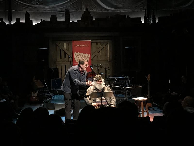 Jean Sherrard and Paul Dorpat at Taproot Theatre
