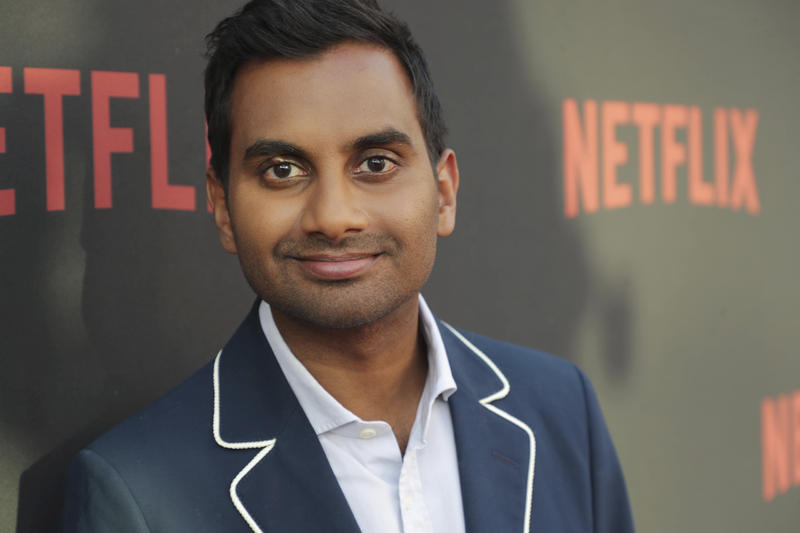 "Aziz Ansari seen at Netflix original series ""Master of None"" ATAS panel at the Wolf Theater at Saban Media Center on Monday, June 05, 2017, in Los Angeles, CA."