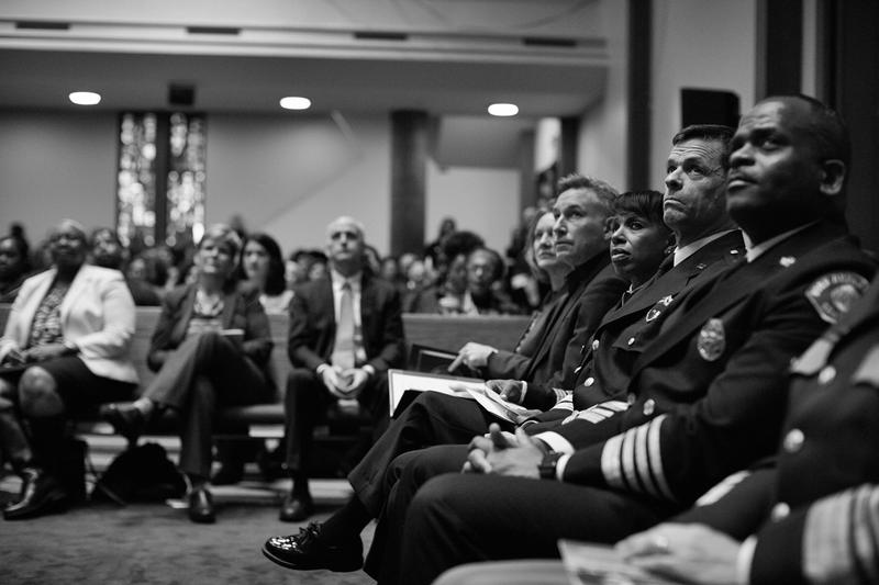 Guests at 45th Annual Community Celebration of Martin Luther King Jr.