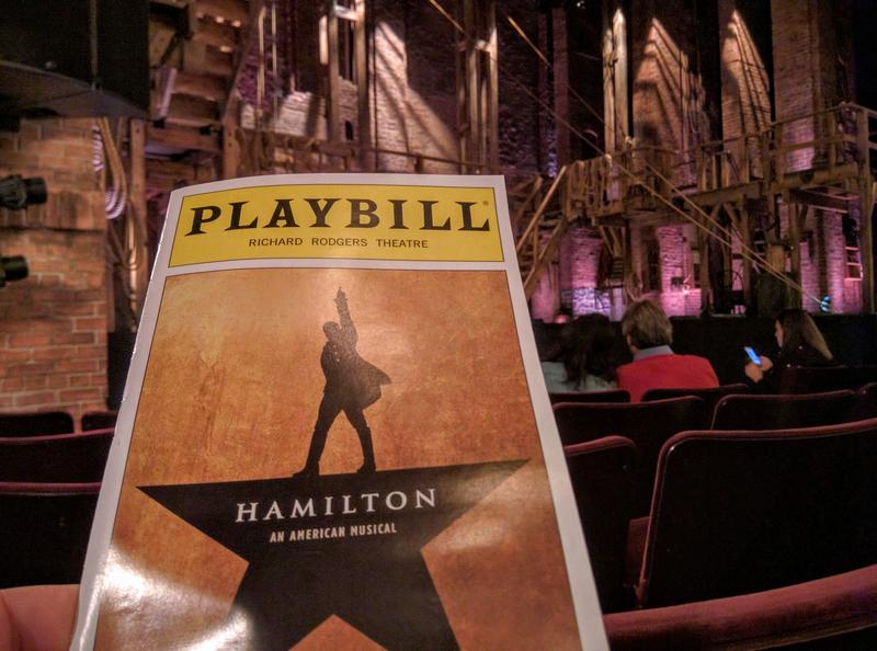 Hamilton The Musical in New York City, New York