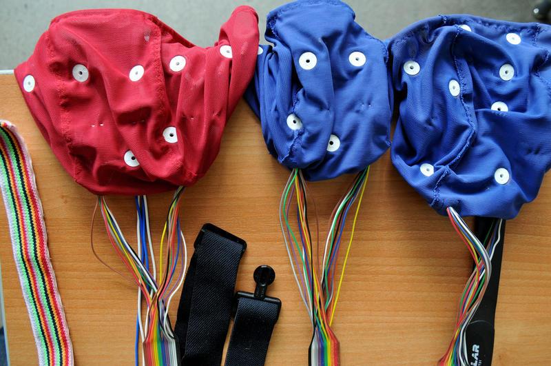 Concussion study testing equipment.