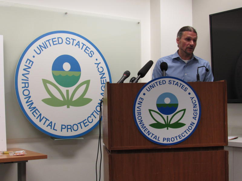 EPA's Chad Schulze says the agency has a