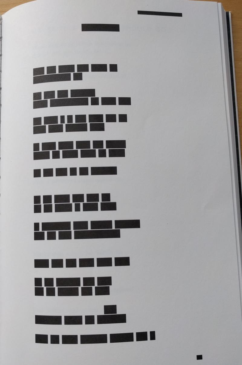 First redaction