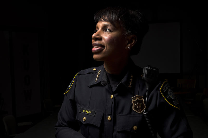 Carmen Best, interim police chief of Seattle