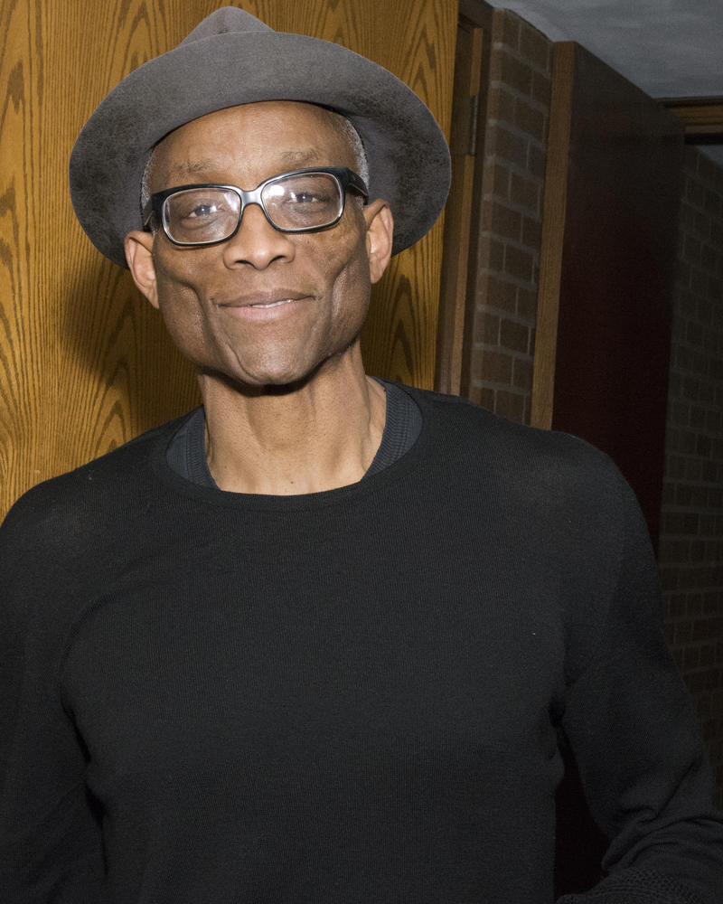 Dancer and choreographer Bill T. Jones at UW's Kane Hall, January 30, 2018.