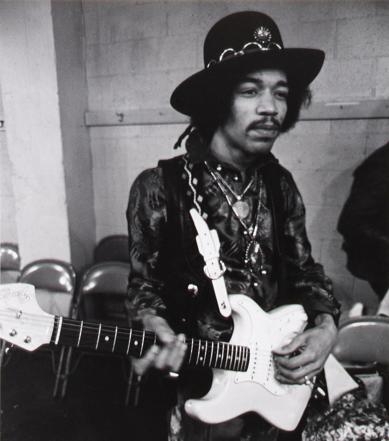 Jimi Hendrix in Seattle, February 12, 1968