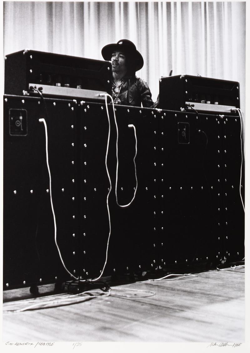 Jimi Hendrix in Seattle, February 12, 1968