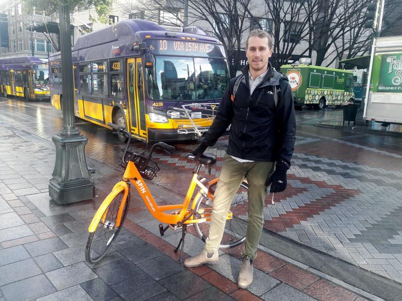Kyle Rowe wants bike sharing companies and cities to be true partners.