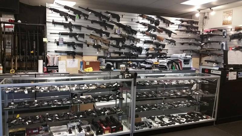 A photo posted on the Facebook page  of Bellevue's Low Price Guns store.
