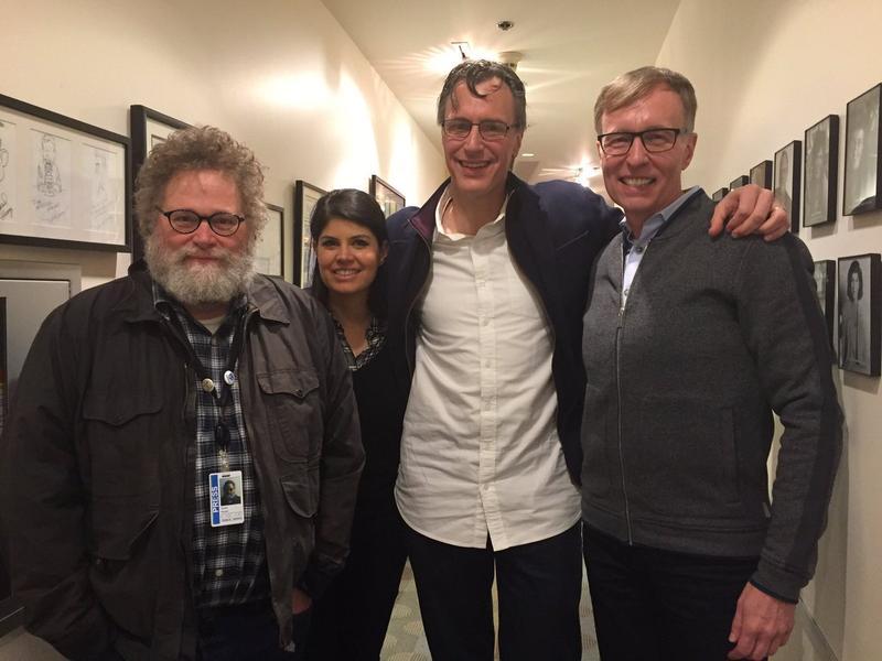L-R: Knute Berger, Natalie Brand, Bill Radke, Rob McKenna