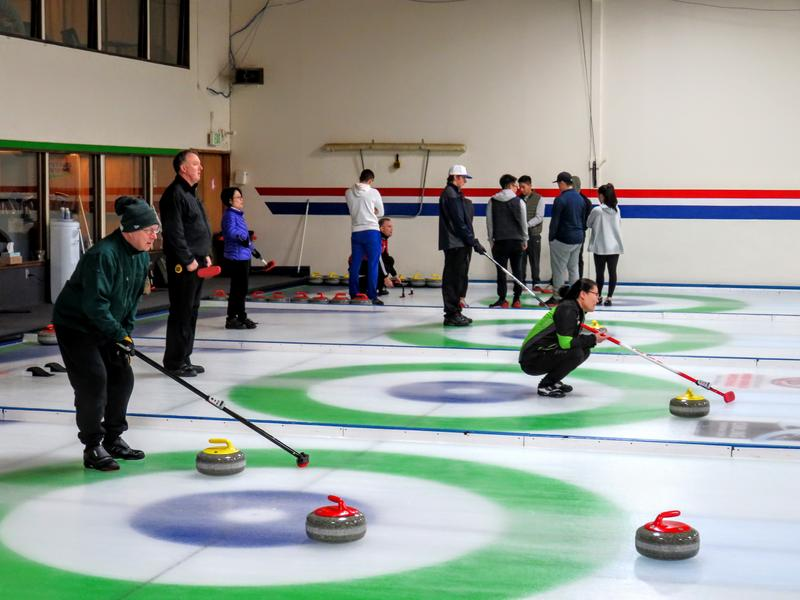 The Granite Curling Club in Seattle's Bitter Lake neighborhood.