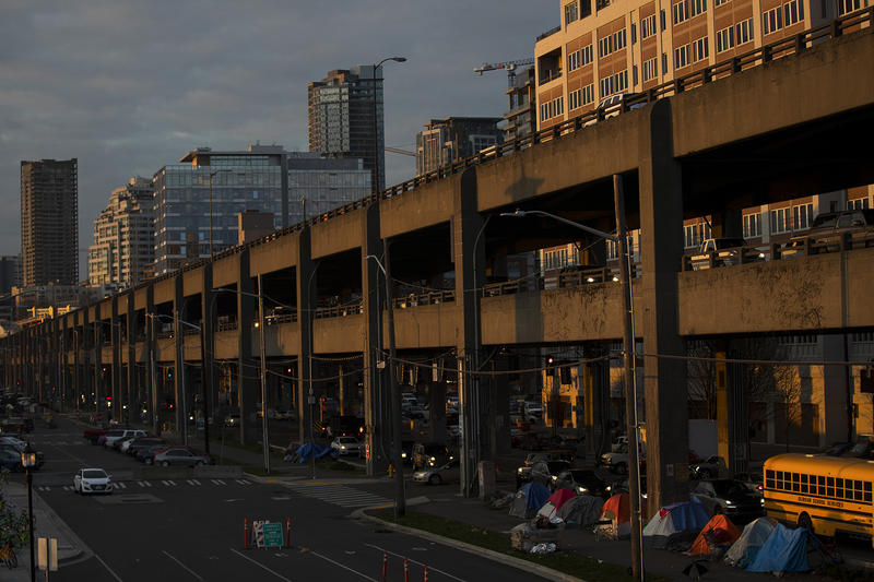 When the Alaskan Way Viaduct is torn down, who does that benefit? The city says: people with property who live nearby.