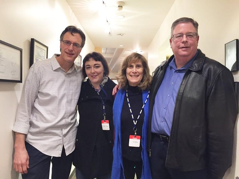 L-R: Bill Radke, Erica C. Barnett, Joni Balter, Chris Vance