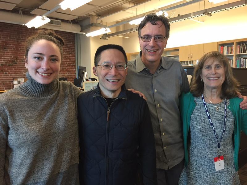 'Week in Review' panel Sydney Brownstone, Eric Liu, host Bill Radke and Joni Balter.