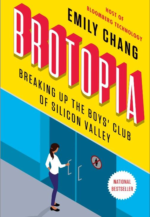Emily Chang's new book 'Brotopia: Breaking Up the Boys' Club of Silicon Valley'