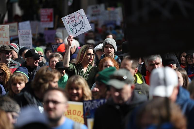 March for Our Lives in Seattle on Saturday, March 24.