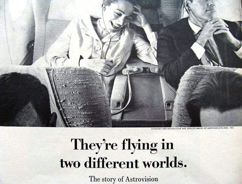 Which world would you rather be flying in? (The Astrovision one, clearly.)