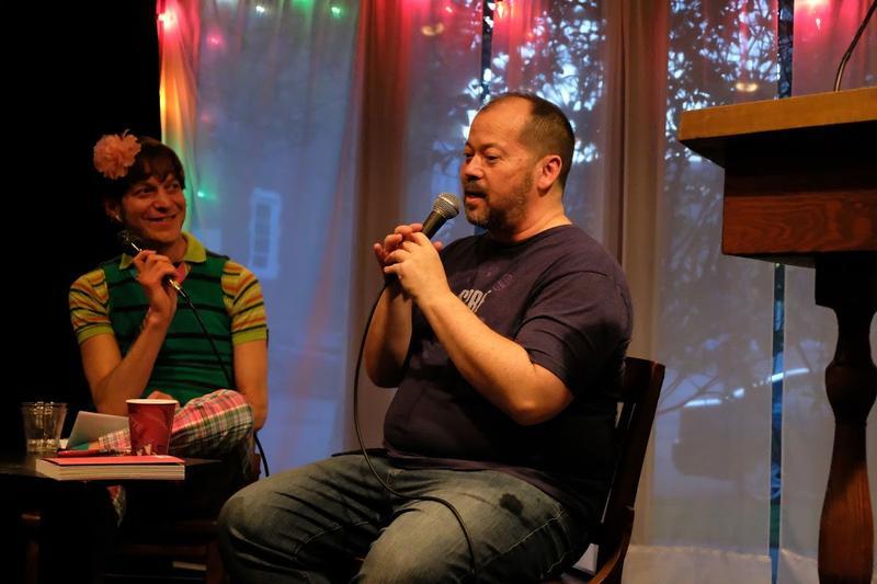 Matillda Bernstein Sycamore and Alexander Chee at Hugo House