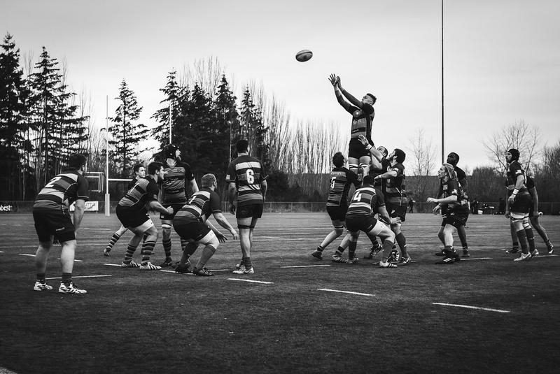 A Seattle Saracens rugby match