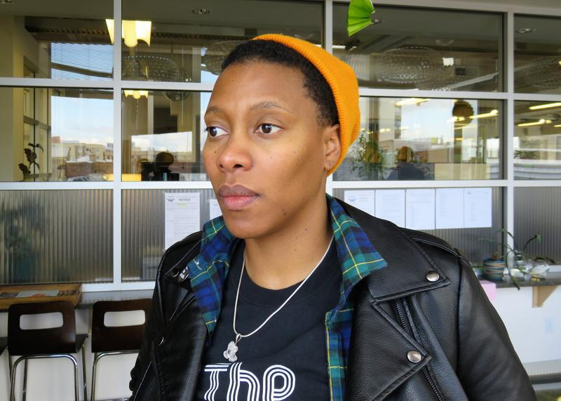 Imani Sims is KUOW's first #NewsPoet.