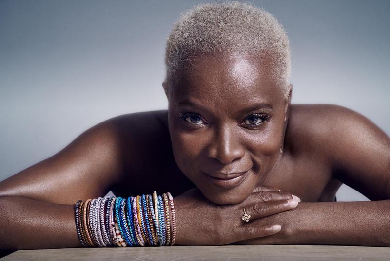Beninese singer Angélique Kidjo.