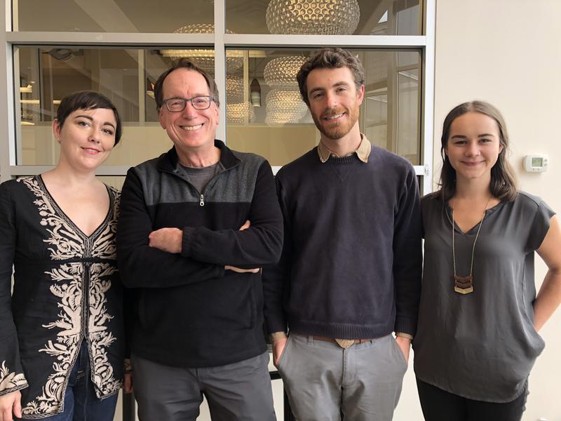 Erica C. Barnett, Ross Reynolds, David Kroman, and Monica Nickelsburg.