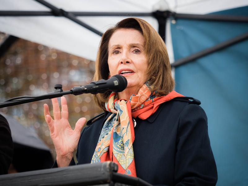 House Minority Leader Nancy Pelosi at Cal Anderson