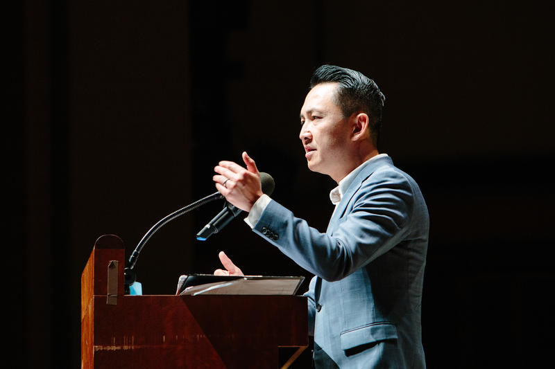 Author Viet Thanh Nguyen at Benaroya Hall
