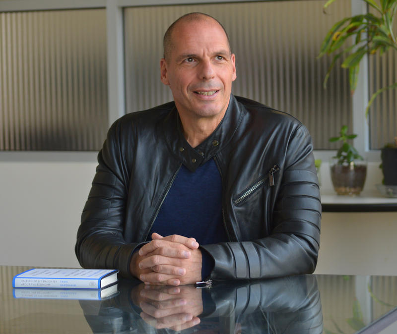Economist and former Greek finance minister Yanis Varoufakis.