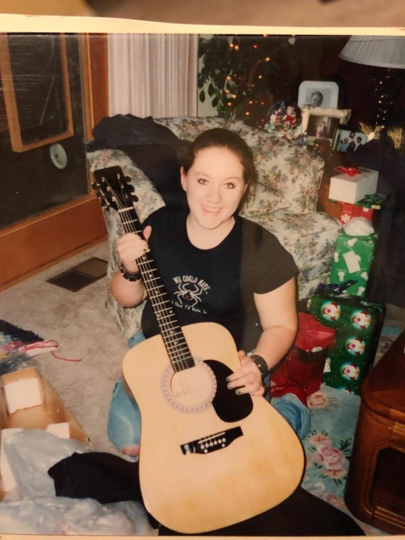 A photograph of Sabrina Tate.