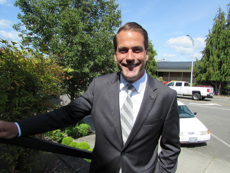 """""""I bring a perspective on the law that is mindful of the struggles of everyday people."""" Incoming Snohomish County prosecutor Adam Cornell grew up in Washington State's foster care system."""