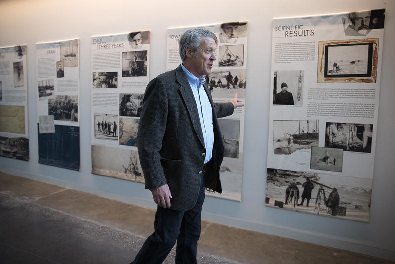 Executive Director and CEO Eric Nelson walks through the hallway on Wednesday, May 2, 2018, at the new Nordic Museum in Seattle.