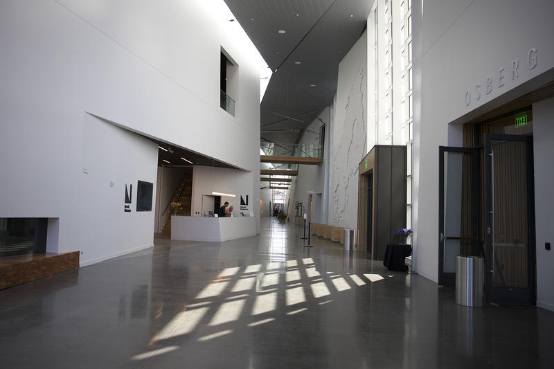 The interior of the new Nordic Museum is shown on Wednesday, May 2, 2018, in Seattle.