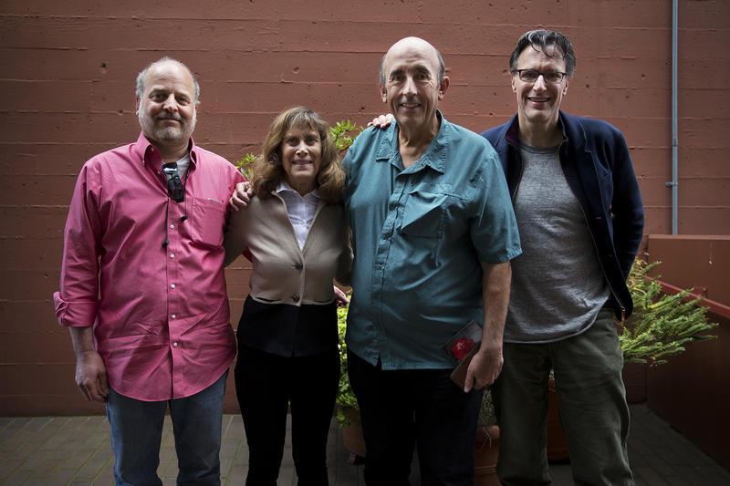 L-R: David Goldstein, Joni Balter, John Keister, Bill Radke