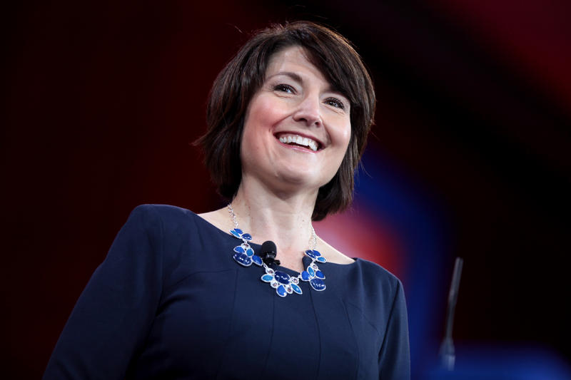 McMorris Rodgers speaking at the 2015 Conservative Political Action Conference (CPAC) in Washington, D.C.