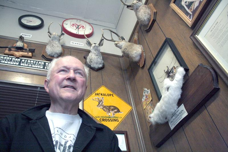 Mike West has watched Tukwila change from his spot beside the (former) highway 99 since 1971.