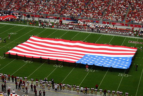 """The NFL will require players to """"stand and show respect"""" during the playing of the national anthem"""