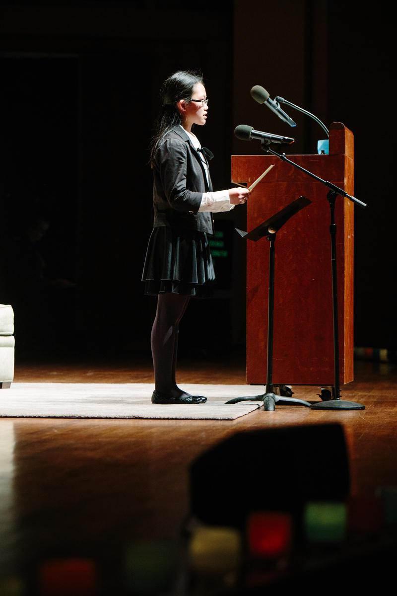 WITS poet Wei Wei Lee at Benaroya Hall
