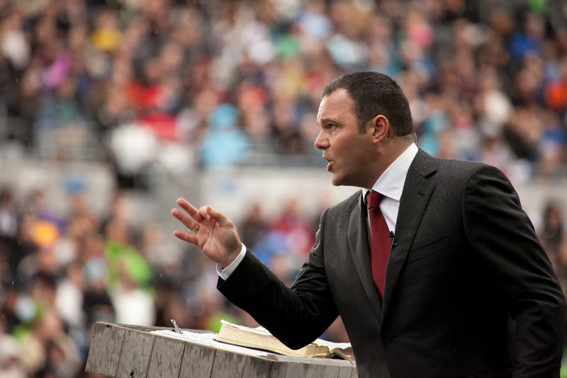 Mars Hill Church pastor Mark Driscoll in 2011.