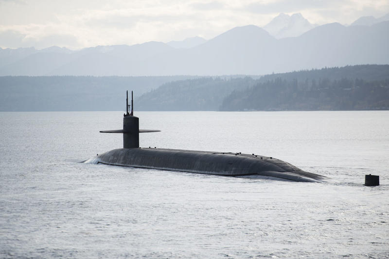 The USS Nebraska stationed at Naval Base Kitsap-Bangor is part of the U.S. nuclear arsenal.