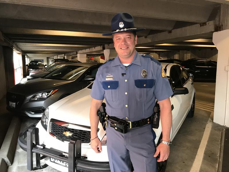 Washington State Trooper Rick Johnson