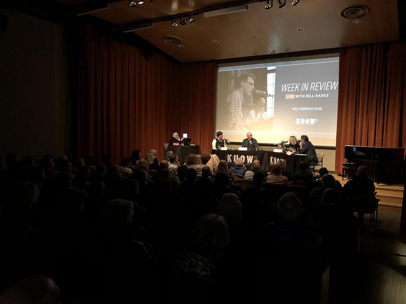 Week in Review live at Bainbridge Island Museum of Art