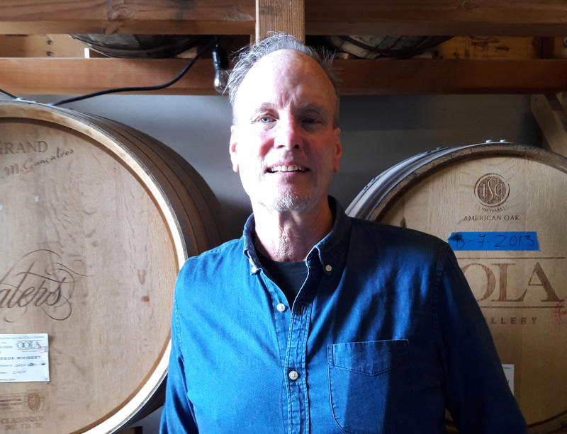Kirby Kallas-Lewis, president and head distiller at OOLA Distillery.