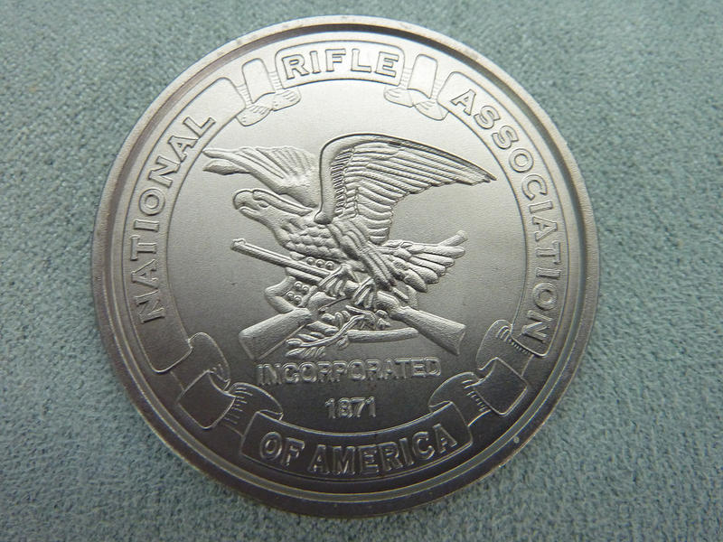 A commemorative coin by the National Rifle Association.