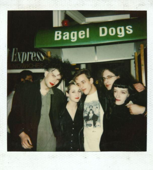 The Seattle dog, with grilled onions and cream cheese, was born in Pioneer Square in the late 1980s. This is a Polaroid of that era.