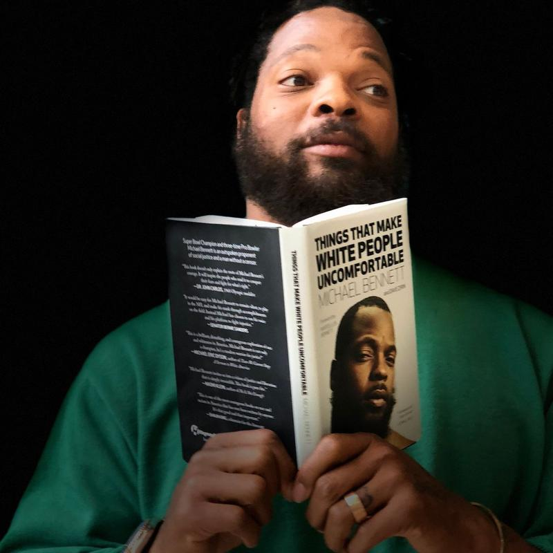 Former Seahawk and author Michael Bennett
