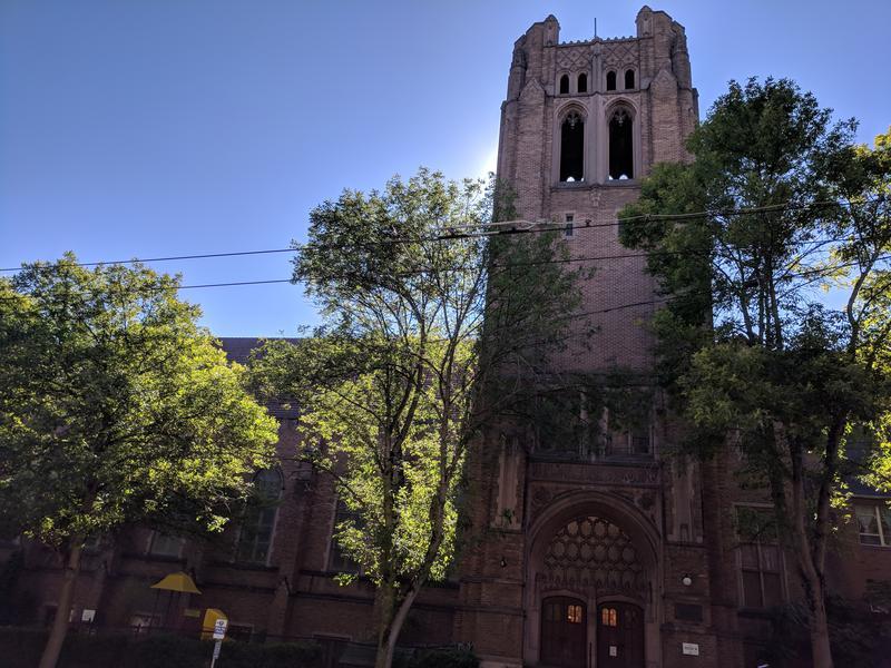 University Temple United Methodist Church in Seattle's University District